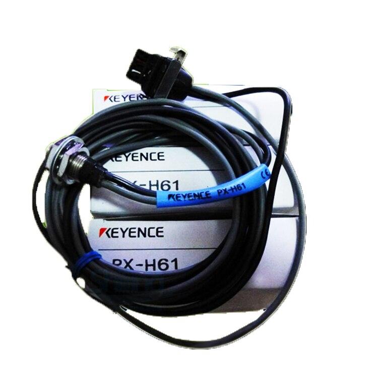 KEYENCE PX-H61 فائقة قوية الاستشعار الكهروضوئية البصرية M12 عاكس وضع ميجا القياسية مع ميزات كبيرة PX-H61