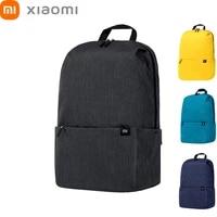 Original Xiaomi Mi Backpack Mini Women Men Shoulder Bags Multifunctional Sports Leisure Bag Black 10L 20L Xiomi Travel Outdoor