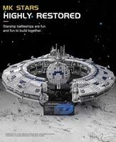 mould king building blocks star plan the class battleship droid control ship model assemble bricks kids toys christmas gifts
