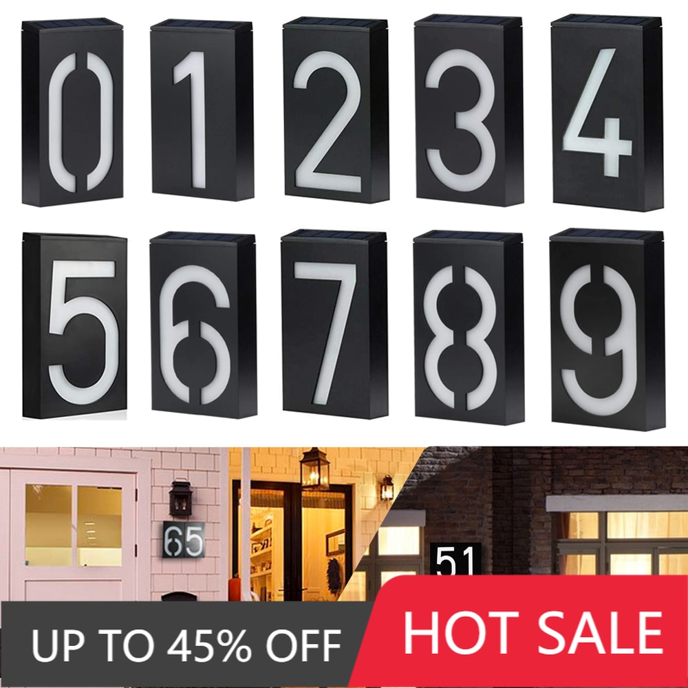 7 segment oil gas fuel white 8 digital numbers led petrol station price display sign outdoor waterproof board Waterproof Solar LED Light House Hotel Logo Garden Address House Number Digital Outdoor Decorative Board Wall Art Light