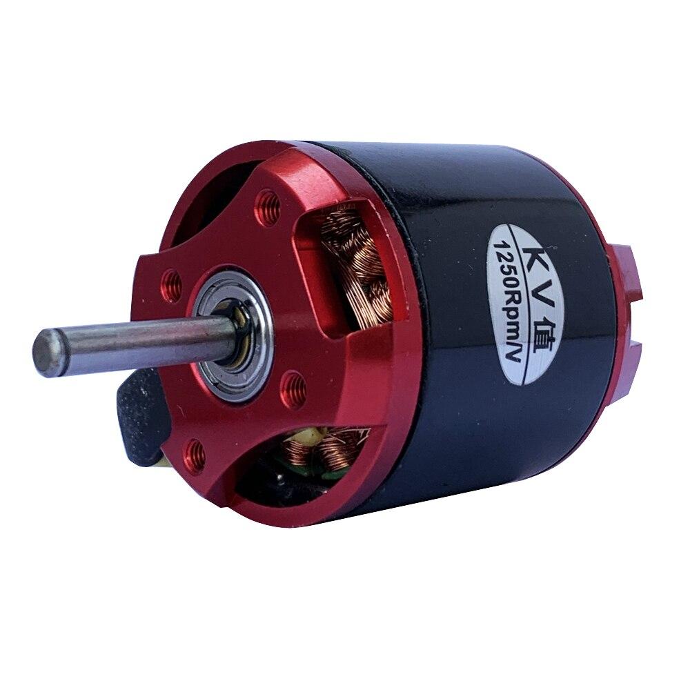 Motor sin escobillas 3542 KV1250, HM, con aspas de rotor exterior, motores eléctricos sin escobillas de alta velocidad