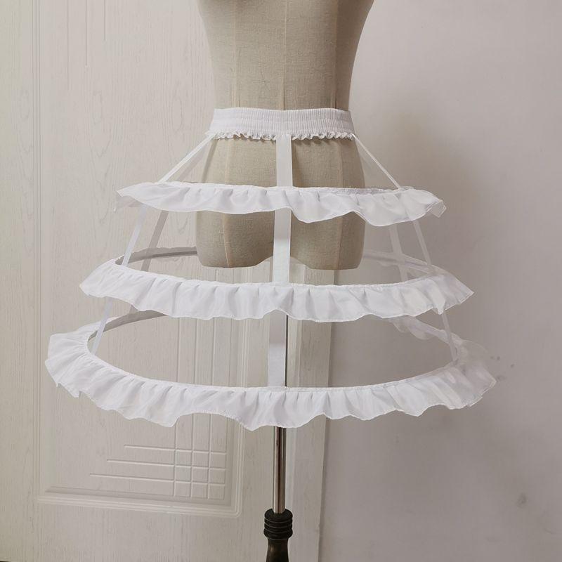 Фото - Женское платье-чулок с оборками, белое/черное платье в виде рыбьей клетки, 3 оборки, подъюбник, свадебное платье для невесты платье 3 pommes 3 pommes po013egzrt57