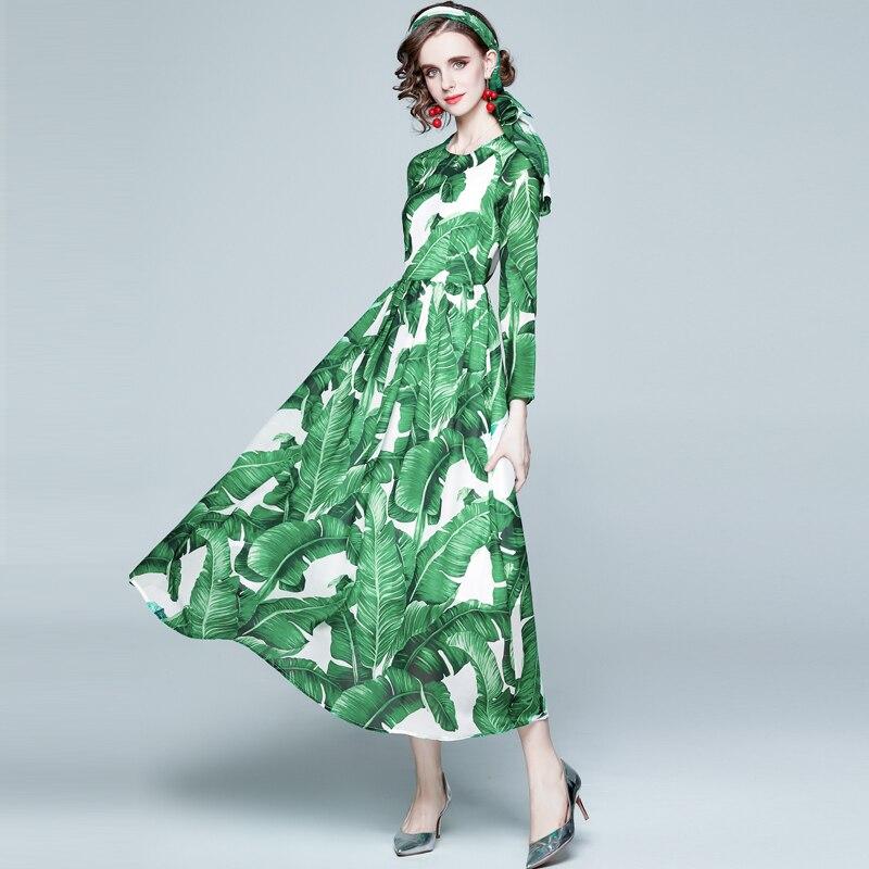ZUOMAN Women Spring Autumn Elegant Chiffon Dress Festa High Quality Long Maxi Party Robe Femme Vinta