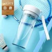 sport portable water bottle outdoor travel 580ml eco friendly transparent space water cup botellas de agua water bottles da60sp