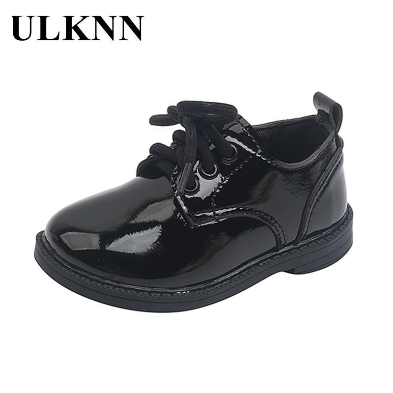 Детская черная обувь, новинка 2021, маленькие детские односпальные белые модные кожаные туфли, кожаная обувь для детей от 1 до 3 лет