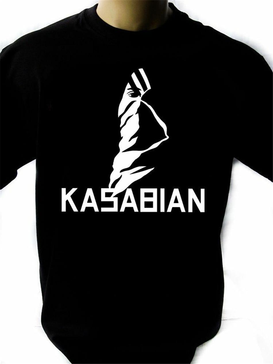 Kasabian Vector para hombre negro Rock camiseta nuevas tallas S-XXXL nueva Unisex divertida camiseta