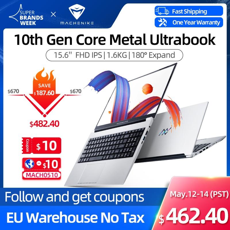 [World Premiere] Machcreator-A Laptop Metal Ultrabook intel core i3 10110U 8G 256G SSD 15.6'' FHD IP