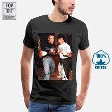 Col rond Style surdimensionné t-shirts Styles Jacky Chan & Jean-Claude Van Damme t-shirt hommes