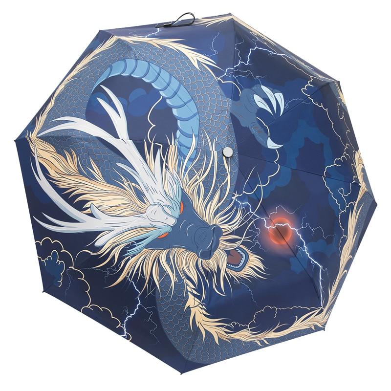 Men Decoration Umbrella Retro Rainproof Chinese Style Umbrella Sunshade Sunscreen UV Protection Sombrilla Home Garden AG50ZS enlarge