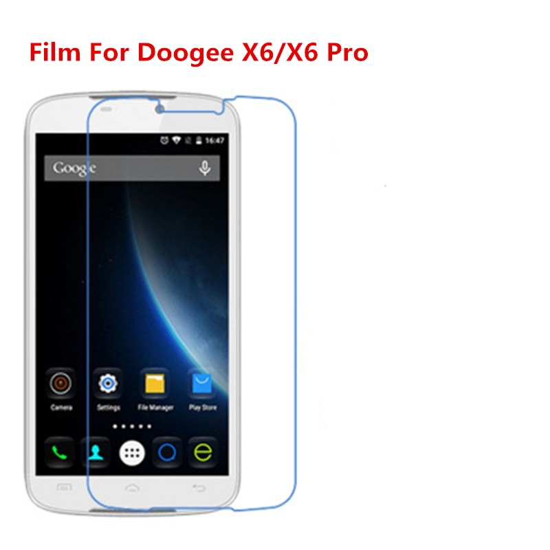 1/2/5/10 Pcs Ultra Thin Clear HD LCD Screen Protector Film With Cleaning Cloth Film For Doogee X6/X6 Pro.