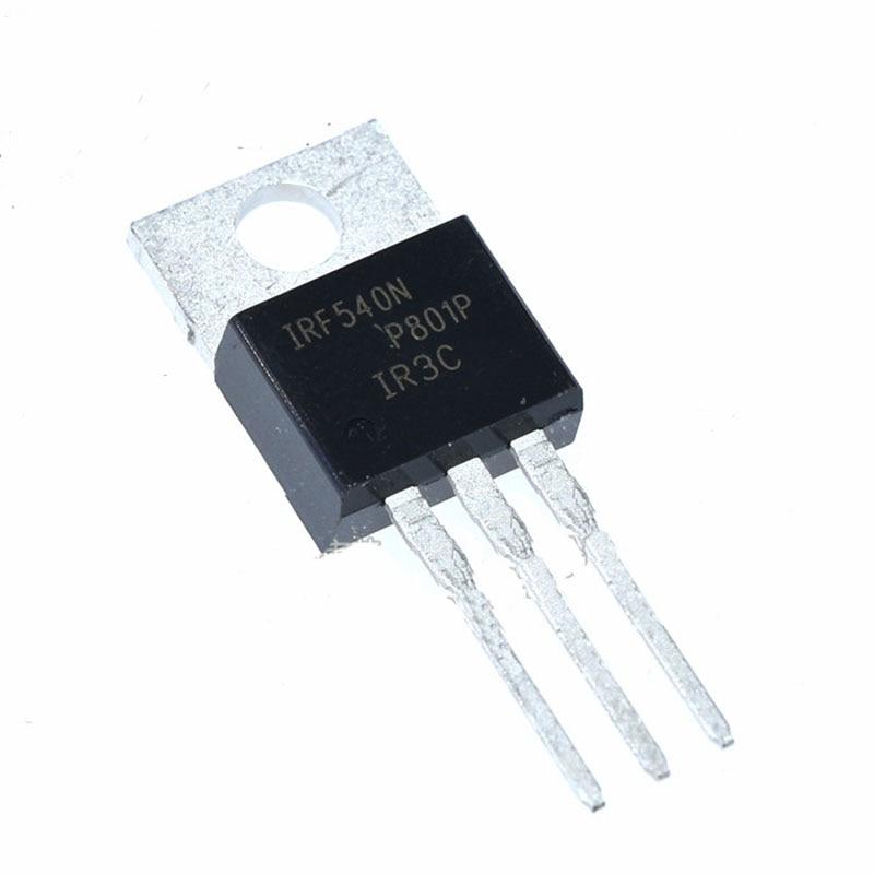20pcs/lot IRF540NPBF field effect transistor TO-220 N channel original IR MOS transistor IRF540N 20pcs sp8m3 lcd high pressure plate mos transistor