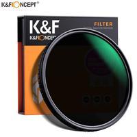 K&F Concept ND2-ND32 Fader ND Filter Lens Neutral Density Variable Multiple Layer Nano Coated 49mm 52mm 58mm 62mm 67mm 77mm