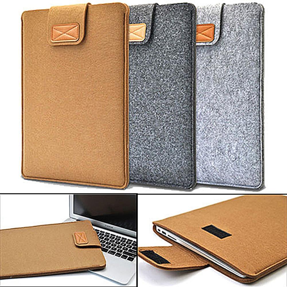 Notebook Bags Laptop Bag Business Handbag Soft Anti-Scratch Felt Protect Bag Case Cover Fit for Macbook Ultrabook Laptop Tablets