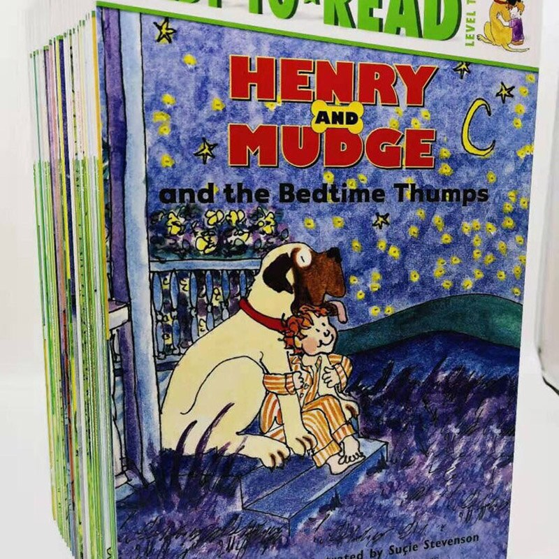 27 Books English Storybook Read Henry and Mudge series Wang Peijun Recommended Readings for American Elementary Schools