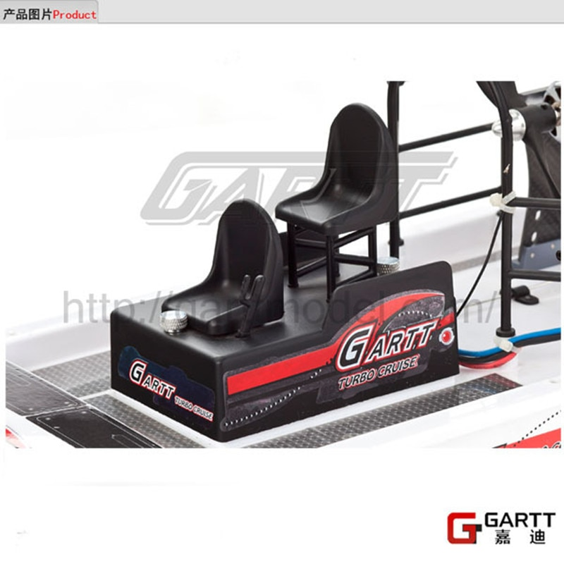 GARTT RC Boat Parts for High Speed Swamp Dawg boat Remote Control Two Channels enlarge