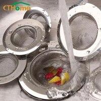 Filtre devier domestique en acier inoxydable  1 piece  piscine  baignoire  salle de bains  egouts de sol  cuisine  accessoires de filtre Anti-colmatage