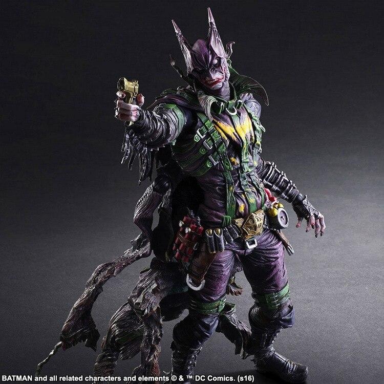 Os vingadores jogar arte kai figuras de ação batman o coringa super homem batman homem de ferro bandidos mulher maravilha brinquedo boneca modelo