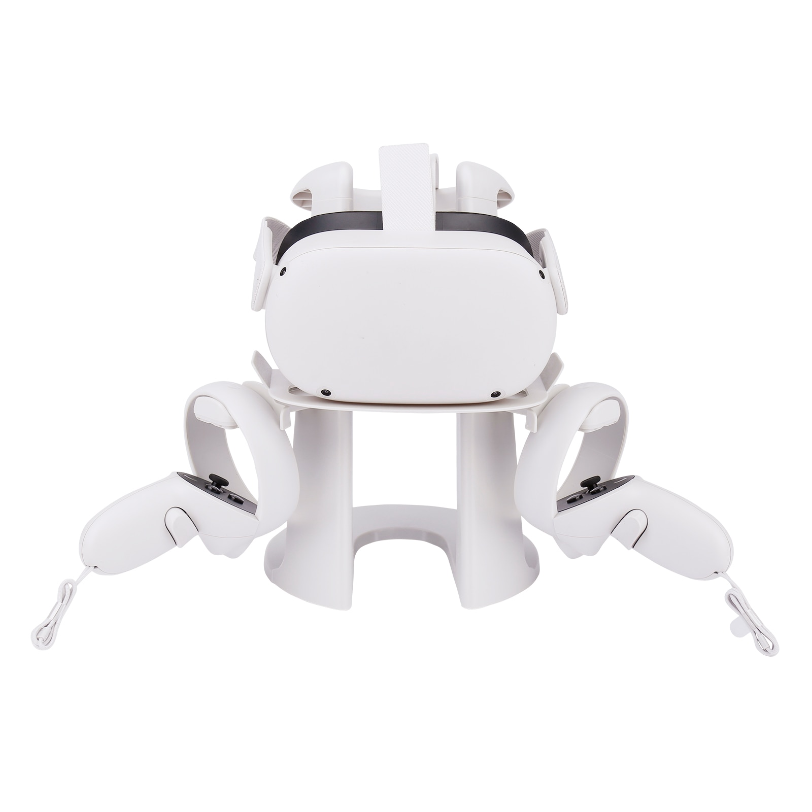 GOMRVR VR Headset and Touch Controllers Display Stand, Helmet & Handle Holder Mount Station for Ocul