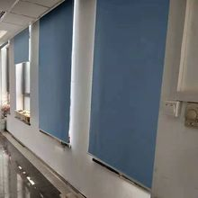 Blackout Rollos Vorhang Büro/Home Solide Voll Schatten Starke Fenster Jalousien Angepasst Größe