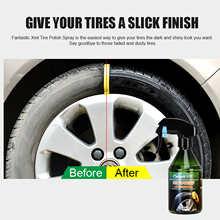 Car Tire Shine Polish Wax Auto Tire Bright Polishing Spray Wax