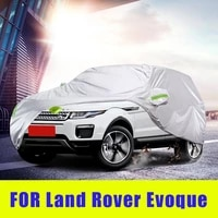 waterproof full car covers outdoor sunshade dustproof snow for land range rover evoque 2012 2020 accessories