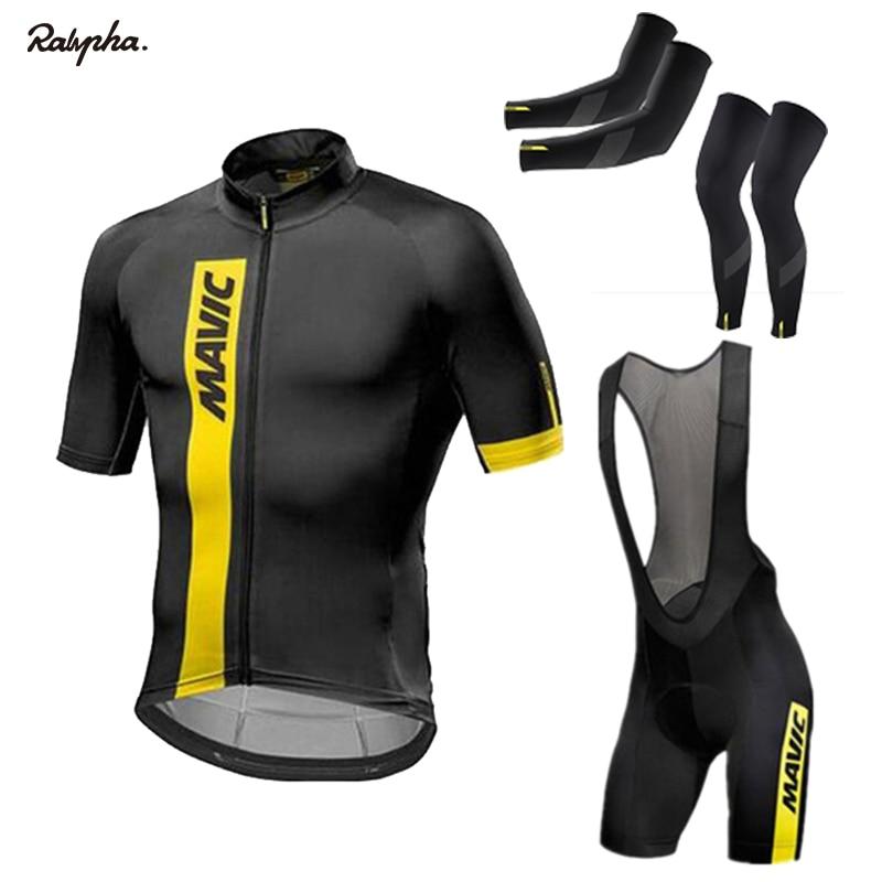 2021 nuevo verano MAVIC Ciclismo Jersey conjunto de manga corta traje de...