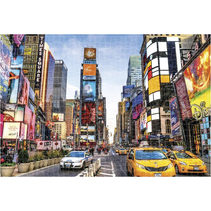 Mini Jigsaw Picture Puzzles 1000 Pieces Wooden Landscape Puzzles Toys for Adults Children Games Educational Toy Puzzle