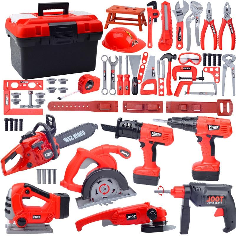 kit de ferramentas de reparo para criancas ferramentas de simulacao de brinquedos