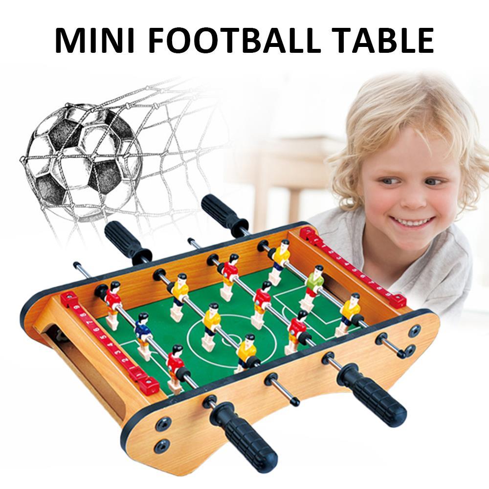 Juego de fútbol, mesa de fútbol, niños, pasatiempos, color, Mini, decorar, mesa de juegos de fútbol para niños, Colección interior, mesa de fútbol