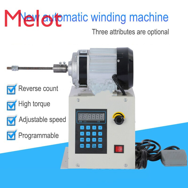 220V Automatic CNC programming winding machine enlarge