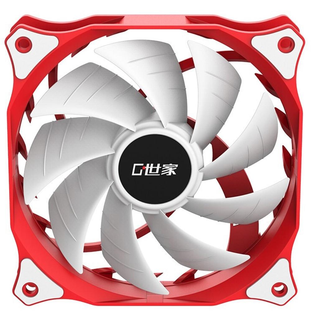 NEUE FR120W PC Fan Kühlung 120mm Ruhig Computer Kühler Fan 2510 4PIN 12V Kühlkörper Kühlung Kühler 20dBA Schweigen fan für PC Desktop
