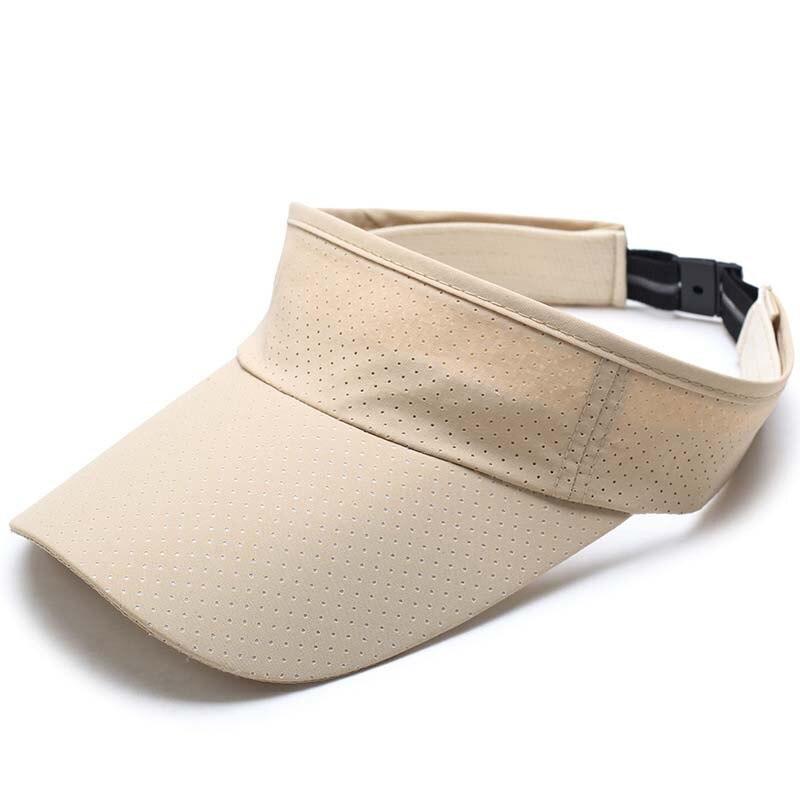 Mujeres hombre de secado rápido tela elástica transpirable vacío pato lengua gorra malla correr sombrero sol sombreros hueso