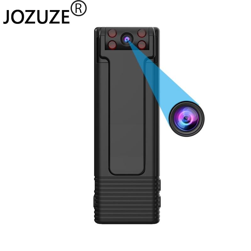 JOZUZE-كاميرا صغيرة محمولة B21 ، كاميرا فيديو رقمية ، كاميرا للرؤية الليلية ، مغناطيس مصغر مع حلقة Snapshot