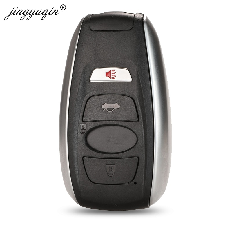 Mando a distancia jingyuqin 3 + 1/4 botones carcasa para llave de coche Fob para Subaru BRZ WRX STI Legacy Outback XV Crosstrek reemplazo