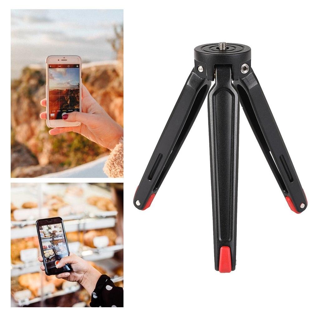 Universal 5.5-16.5cm Metal Mini Stabilizer Bracket Desktop Mobile Phone Tripod Holder Digital Camera Tripod Stabilizer Bracket enlarge