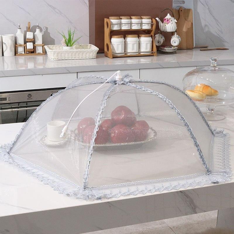 Складная крышка для обеденного стола Крышечка еды прямоугольная еды|Крышки еды| |