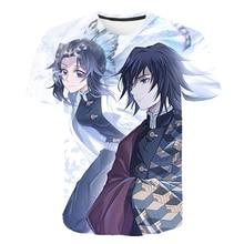 2020 3D boys clothes Japanese Anime Demon Slayer T Shirt Kimetsu No Yaiba kids clothes Childrens clothing Streetwear clothes