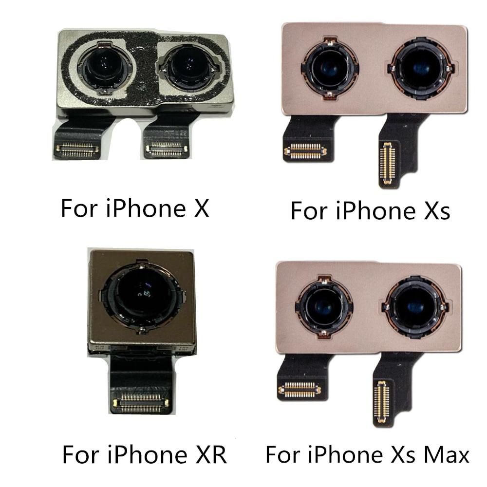 Main Rear Camera For iPhone 7 8 X Camera XS max 11 11pro Big Camera Rear Main Lens Flex cable Replac