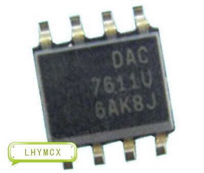 5PCS DAC7611U DAC7611 7611 SOP8 DAC SMD IC