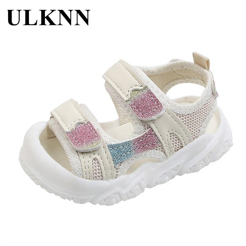 ULKNN Children's Sandals Boy's Summer Of 2021 The New Boy's Beach Sandals Boy Soft Bottom Shoes Baby Toddler Sandal Size 16-20