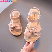 Casual Butterfly-knot Non-slip Soft Kid Toddler Baby Shoes Summer Korean Little Children's Girls Pri