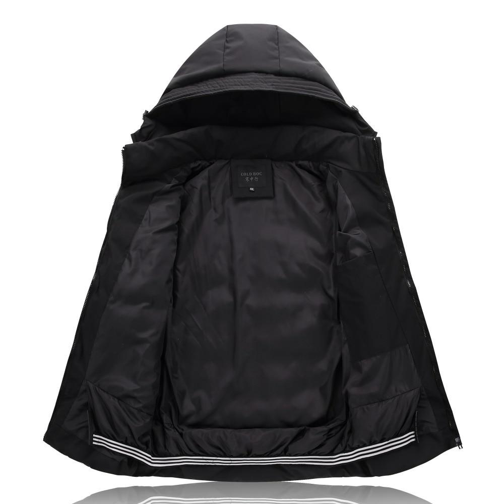 Plus Size 4XL-9XL Winter Jacket Men 2019 Black Male Coat Cheap Down Jacket Parkas Trench Hooded Camperas Snow Cold Jacket 1626