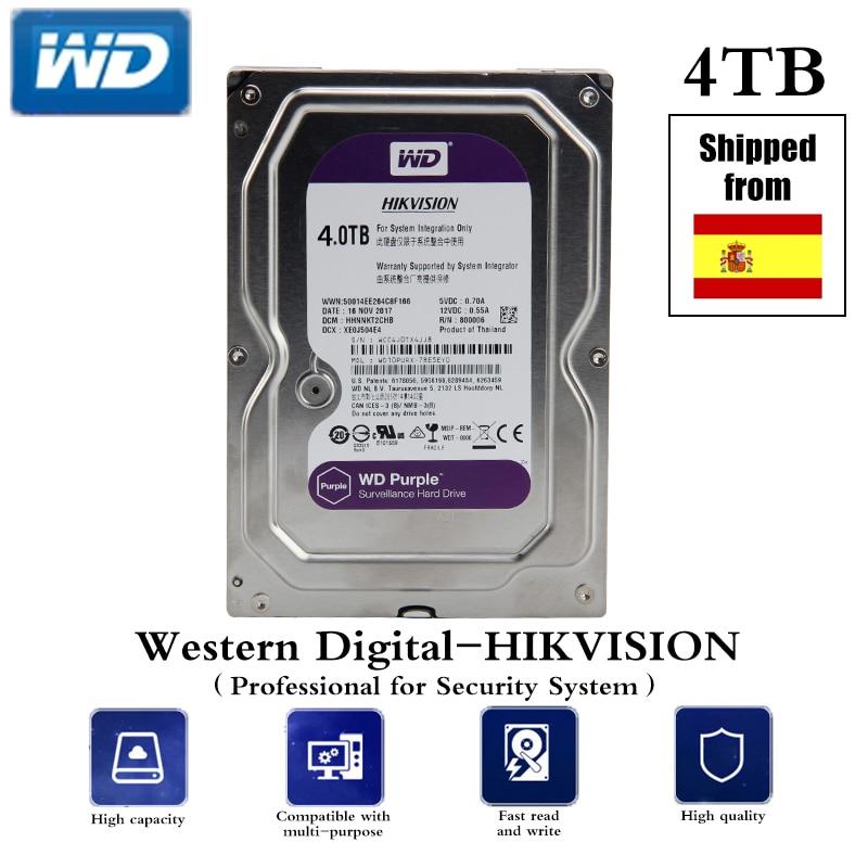 HDD المهنية ل CCTV 4 تيرا بايت/6 تيرا بايت/1 تيرا بايت 3.5 بوصة SATA واجهة قرص صلب ل العهد DVR NVR CCTV نظام الأمن شحن مجاني