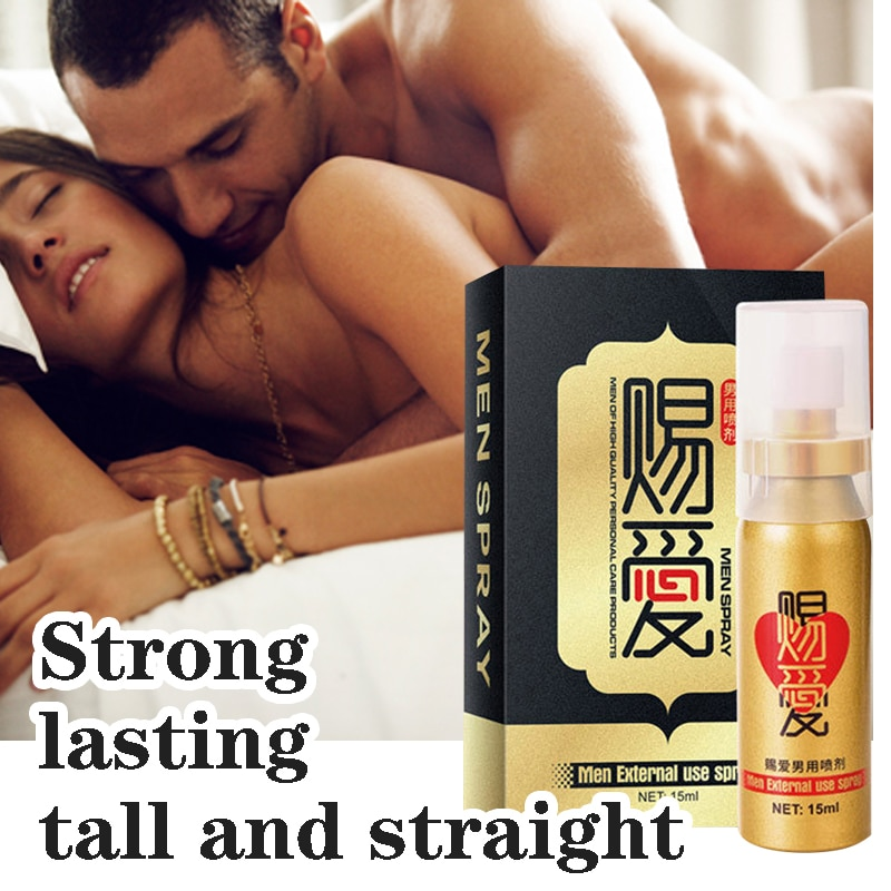 Best delay spray to extend 60 minutes 15ml male penis extender anti-premature ejaculation men's lo