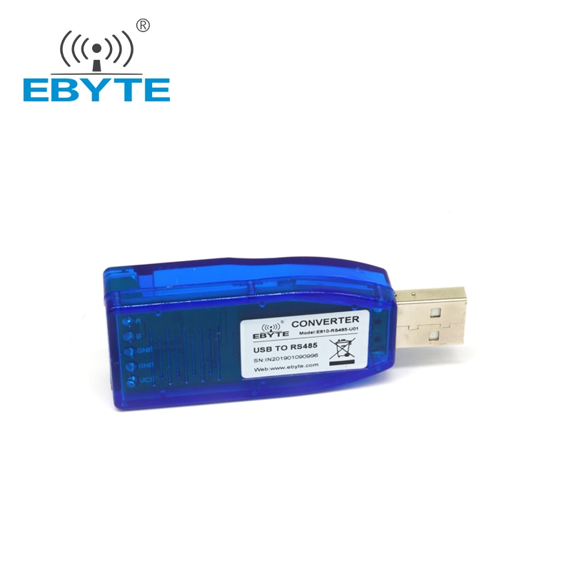 2pc lot e810 485 u01 ch340 usb rs485 test board for uart wireless serial port modem USB to RS485 Converter CH340 Test Board Data Transmission Module EBYTE E810-RS485-U01 for UART Wireless Serial Port Modem