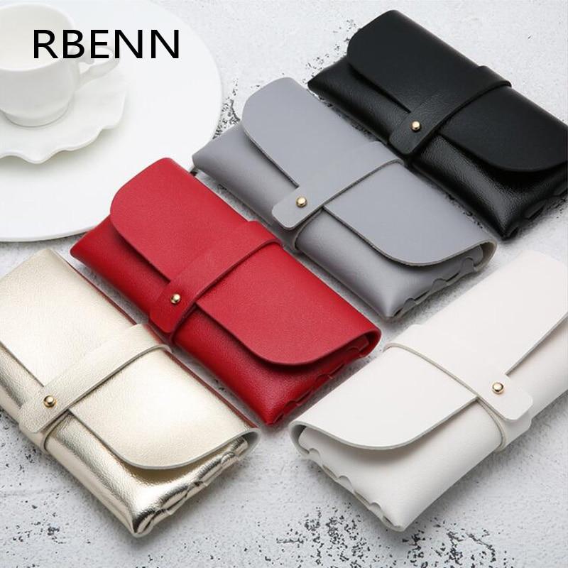 RBENN модный хит продаж бинокль чехол Магнитный PU кожаный складной очки коробка для очков негабаритных солнцезащитных очков