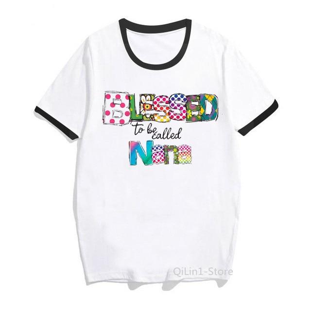 Женская летняя футболка с надписью надписями и надписью надписями