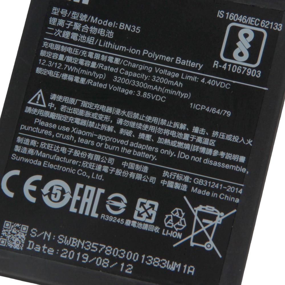 XiaoMi Original Replacement Battery BN35 For Xiaomi Mi Redmi 5 5.7