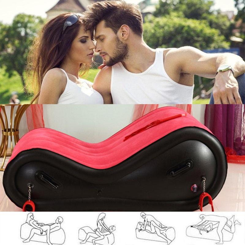 Приятная Сексуальная Подушка, диван-стул, сексуальная кровать для взрослых, Портативные Надувные сексуальные диваны для взрослых, поддержк...