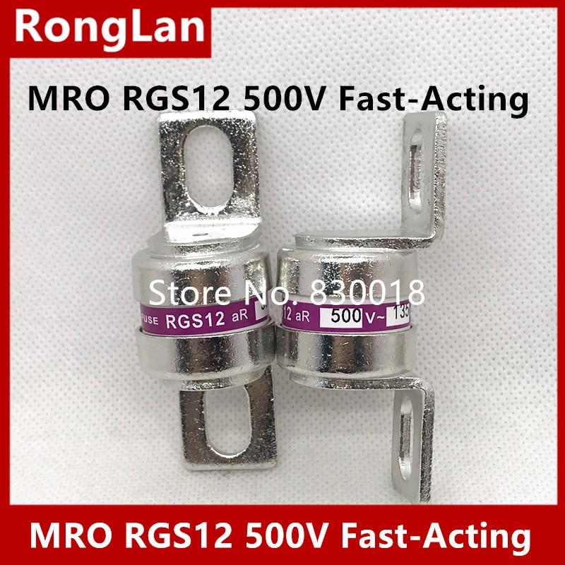 RGS12-135A MRO Mingrong فتيل سريع RGS12 CR2L GSB 60A 100A 110A 125A 135A 150A 160A 175A سريع المفعول-10 قطعة/الوحدة